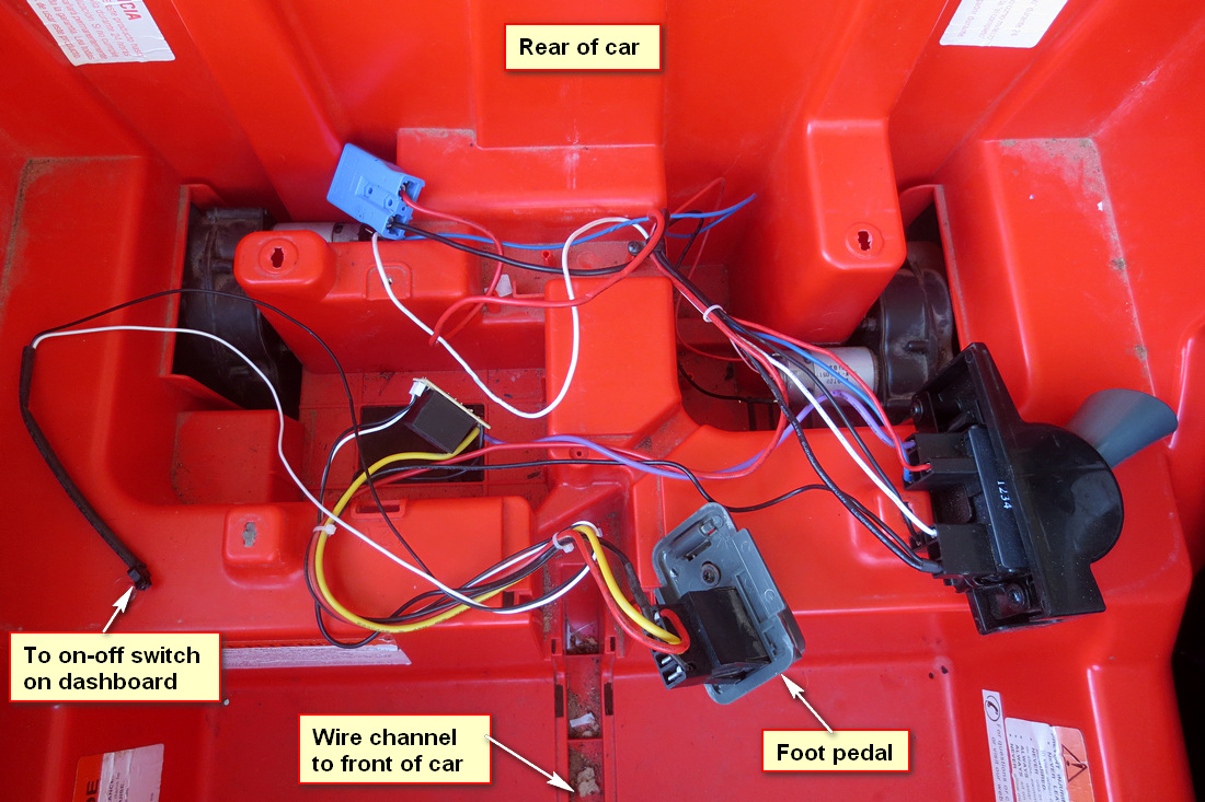 Solved Kid Trax Cooper S 12v Now Blows Fuses Modifiedpowerwheelscom Power Wheels 12 Volt Wiring Diagram Image